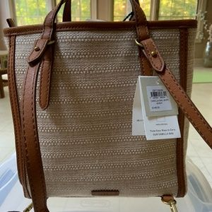 Fossil Camilla Backpack wheat beige new with tags